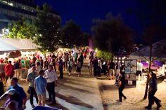 The Toronto Wine and Spirit Festival at Sugar Beach in Toronto