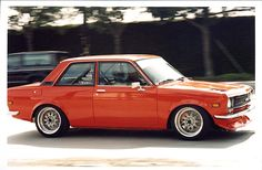 There is a space reserved in my dream car garage for a datsun 510 coupe