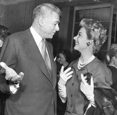 Oscar Hammerstein II, With Mitzi Gaynor