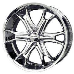 Liquid Metal Coil Series Chrome Wheel (22x9.5 Liquid Metal, New Chrome, Chrome Wheels