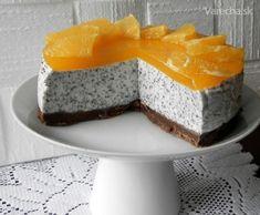 Makový nepečený cheesecake s pomerančem Czech Recipes, Cheesecake Recipes, No Bake Cake, Amazing Cakes, Sweet Recipes, Baking Recipes, Cupcake Cakes, Sweet Tooth, Cake Decorating