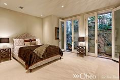 Great master bedroom!  #masterbedroom  See more great master bedrooms here: http://www.pinterest.com/obeo/magical-master-bedrooms/