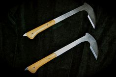 Titanium Kama fixed blades
