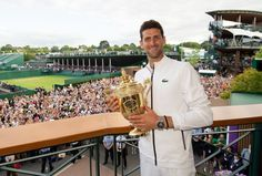 Novak Djokovic won Wimbledon, London, by Clearlight Sauna, Tie Break, Atp Tennis, Tennis Legends, Muscle Pain Relief, Infrared Sauna, Its A Mans World, Wedding Dress Sleeves, Sports Stars