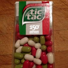 TicTac 150th anniversary. Maybe something for 3D Printer Chat?