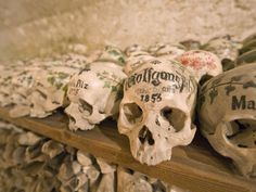 Some Visitors Find The Bone House In Hallstatt, Austria, Unexpectedly  Beautiful. We Just