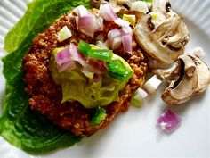 ♡ SecretGoddess ♡ www.pinterest.com/secretgoddess/ Raw on $10 a Day (or Less!): Mushroom Burgers ~ Raw Vegan Recipe