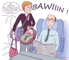 Le train avec bébé  |par Céline Théraulaz sur Guide Maman Bébé