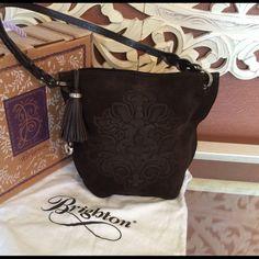 Brighton purse Brown suede bag Brighton Bags Shoulder Bags