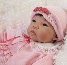 "Asian Reborn Baby Dolls | Asian Baby Doll Lifelike 21"" Vinyl Weighted Best Seller Girl Newborn ..."
