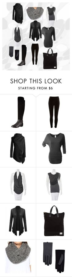 """""""not expensive dark every day combination"""" by polona-mivsek on Polyvore featuring Kelsi Dagger Brooklyn, River Island, LE3NO, Helmut Lang, Elizabeth and James, Herschel Supply Co., Darzzi and MANGO"""