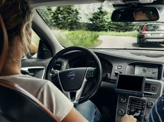 Volvo self-driving car
