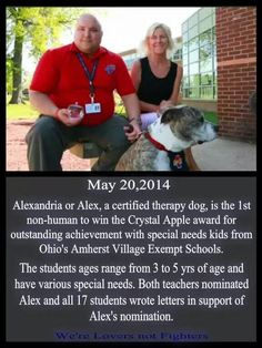 Such a heroic dog.