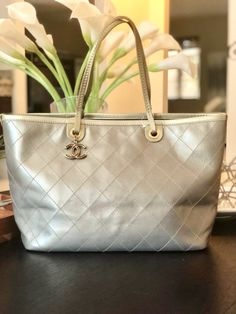 Valentino by Mario Valentino Cream Bucket Bag with woven inserts inc Dust Bag