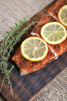 Grilled Cedar Plank Salmon Fillet - made this for dinner tonight. It was delicious. Highly recommend it. Adding this to my permanent recipe collection.
