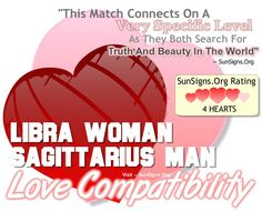Libra Woman And Sagittarius Man - A Dynamic & Impulsive Match » Sun Signs