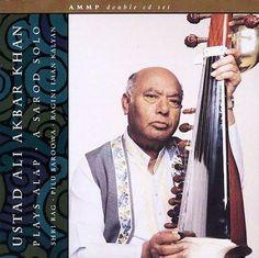 Ustad Ali Akba Khan - Plays Alap