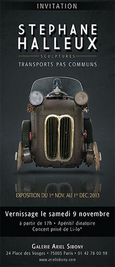 Fantastic steampunk sculptures by Stéphane Halleux