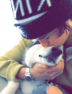 Nash and Jaxx. This is honestly so cute