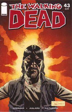 Walking Dead #43: Regular comic-book size.