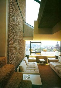 Rome apartment 1970s | Architect Gae Aulenti