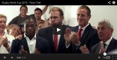 Charles Dance delivers Team Talk for Rugby World Cup 2015