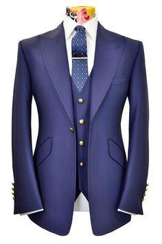 The Morgan Lapis Blue Suit