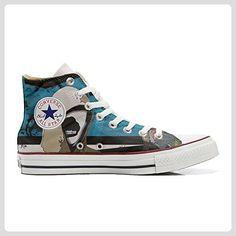 Converse Customized Adulte - chaussures coutume (produit artisanal) Carlino size 43 EU GFjLm2w