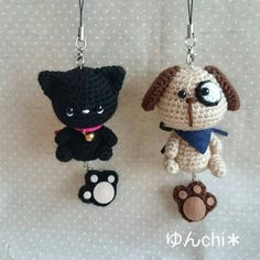 Cute Crochet, Crochet Crafts, Crochet Dolls, Crochet Projects, Knit Crochet, Crochet Animal Patterns, Crochet Animals, Crochet Key Cover, Crochet Keychain