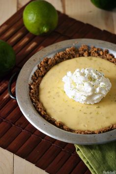 Key Lime Pie for Two \\ PasstheSushi.com