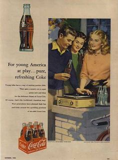 Coca Cola Company's Coca-Cola (1953)  I am quite aware that this is no nutritional value to this drink but I still find it delicious.