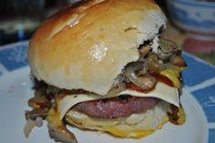 Pan de hamburguesa o perrito casero - homemade hamburger or doggy bun