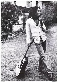 Bob and guitar. Obviously not a senior, but what a great nonchalant pose...
