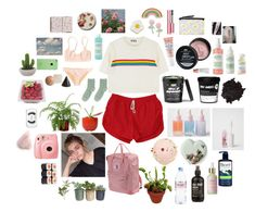 """""""Chill Day"""" by flyingspaghettimonster ❤ liked on Polyvore featuring SkinCare, Mario Badescu Skin Care, Too Faced Cosmetics, Mara Hoffman, Evian, Bioré, Georgia Perry, Big Bud Press, Monki and Fjällräven"""