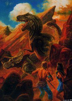 bob eggleton - Planet Of The Dinosaurs