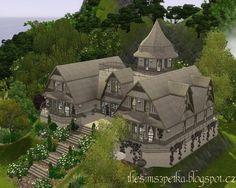 Un Morceau de la Magie - A wonderful magic house at Petka Sims 3 - Social Sims 3 Finds