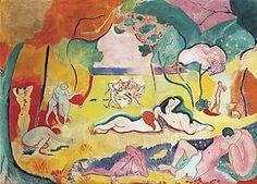 Le bonheur de vivre (The Joy of Life) by Henri Matisse, 1905/06.