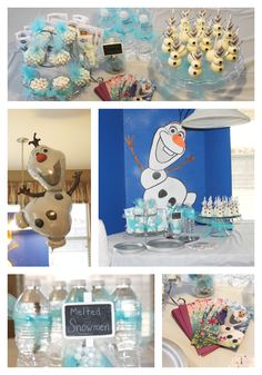Frozen party theme: Plan an Olaf party!