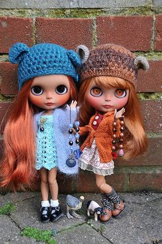 Zlata and Isla | Sisters who only met briefly. | BlytheAdore | Flickr