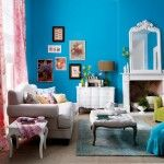 Blue Living Room Decor - What are good living room color combinations? Blue Living Room Decor - What color curtains go with dark blue couch? Blue Living Room Decor, Colourful Living Room, Living Room Photos, Living Room Color Schemes, Chic Living Room, Living Room Colors, Cozy Living Rooms, Living Room Furniture, Living Room Designs