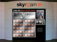 Going abroad? Skyroam rental vending machines launch in several US airports