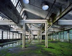Hall, Peters Cartridge Factory, Kings Mills, USA, 2011