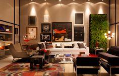Artwork, colors and plants. #casacor #decor #interior #design #charm #details #casadevalentina