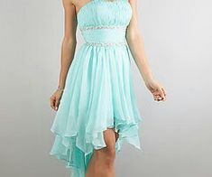 Blue short prom or home coming dress