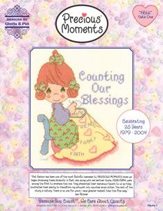 """Gloria Pat """"Precious Moments"""" patterns for free"""
