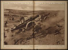 Terrific Pounding Of German Lines by British Howitzers in the Battle of the Somme in 1917 (LOC) | Flickr - Photo Sharing!