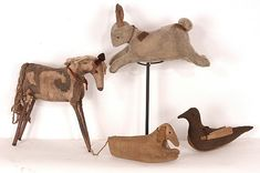 Kay Cloud Vintage Folk Art Animals