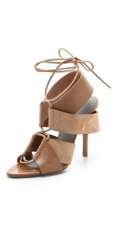 Alexander Wang Malgosia Lace Up Sandals   SHOPBOP