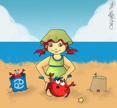 beach baby Cancer :)