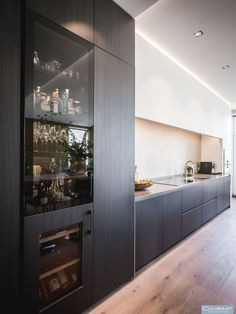Living Room Inspiration, Interior Inspiration, Home Bar Designs, Küchen Design, Luxury Kitchens, Kitchen Art, Interior Design Kitchen, Decoration, New Homes